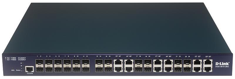 DGS-3610-26G - Управляемый коммутатор