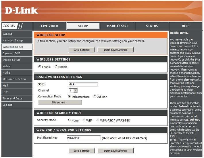 D-link Dcs-930l Инструкция - фото 8